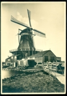 Nederland Briefkaart G 285 G Molenserie Nr. 7 Leiden Houtzaagmolen (Bovenkruier) - Postal Stationery
