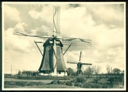 Nederland Briefkaart G 285 R Molenserie Nr. 18 Zuilen Verschillende Watermolens - Postal Stationery