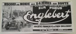 Record 24 Heures Sur Route  - Le Champion Italien Tazio NUVOLARI   (Ecurie Alfa Roméo) - Coupure De Presse De 1933 - Documentos Históricos