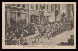 NEW - Ww1 - Entrée Troupes Françaises  Luxemburg Luxembourg  HOUSTRASS Soldats 1914 1915 1916 1917 1918  1919 - Luxembourg - Ville