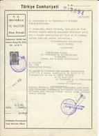 FISCAUX TURQUIE CASIER JUDICIARE 1976 - Turkije