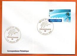 WALLIS ET FUTUNA   EXPO. PHILATELIQUE MONDIALE   1989 Lettre Entière N° RS 9 - Covers & Documents