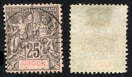 Colonie Française, Obock N°39 Oblitéré ; Qualité Beau+ - Used Stamps