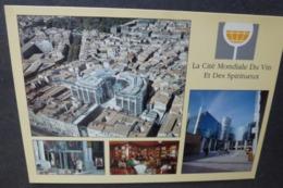 Carte Postale - édition Pistolet Bleu - La Cité Mondiale Du Vin Et Des Spiritueux - Bordeaux - Publicité