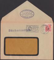 Bücherzettel Berlin N4 Otto Choyne Buchhhandlung Des Ostens 5.2.56 MWSt. Messe, Portorichtig Analog Einer Drucksache - [6] République Démocratique