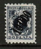 POLAND  Scott # J 48* VF MINT LH (Stamp Scan # 616) - Impuestos