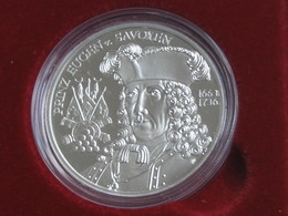 AUTRICHE - Magnifique Pièce De 20 €uros En Argent - PRINZ EUGEN V.SAVOYEN 1663-1736  **** EN ACHAT IMMEDIAT **** - Autriche
