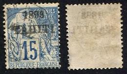Colonie Française, Tahiti N°24 Oblitéré, Qualité Beau - Tahiti (1882-1915)