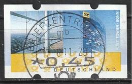 2008 Germania Federale - ATM - Automatenmarken - Mi. N. 7 - € 0,45 - Distributori