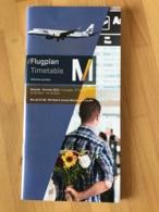 MUNICH AIRPORT Flugplan Timetable Verbindung Leben Sommer Summer 2015 2. Ausgabe 2nd Edition 01.05.2015 - 24.10.2015 - Horaires