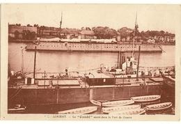 """56  -  LORIENT - Le """" Condé """" Ancré Dans Le Poret De Guerre  188 - Lorient"""