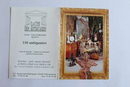 Petit Calendrier 1995 Offert Par  La Cite Des Antiquaires Lyon Villeurbanne - Calendriers