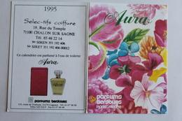 Petit Calendrier 1995  Parfum AURA - Calendriers
