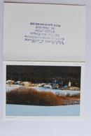 Petit Calendrier 1995  Paysage De Neige - Calendriers