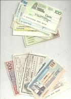 Lotto 4     12    MINIASSEGNI - [10] Assegni E Miniassegni