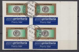 ITALIA REPUBBLICA 2006 PRIORITARIO € 1,40  N. 2894A  USATA IN QUARTINA SPLENDIDI - 2001-10: Usados