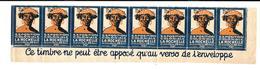 KB585 - BANDE DE 8 VIGNETTES EXPOSITION COLONIALE LA ROCHELLE 1928 - Erinnophilie