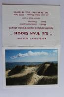 Petit Calendrier 1995  Offert Par Restaurant Pizzeria LE VAN GOGH  LYON Dunes De Sable - Calendriers