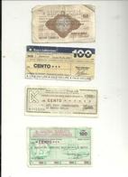Lotto 2    4   MINIASSEGNI - [10] Assegni E Miniassegni