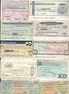 Lotto1    10   MINIASSEGNI - [10] Assegni E Miniassegni