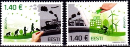 Europa Cept - 2016 - Estonia, Estland - (Think Green) ** MNH - 2016