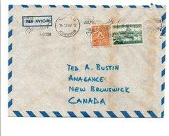 FINLANDE AFFRANCHISSEMENT COMPOSE SUR LETTRE  POUR LE CANADA 1967 - Lettres & Documents