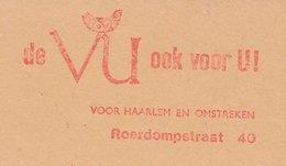 Meter Cut Netherlands 1975 Bird - Owl - Birds