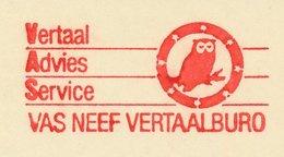 Meter Cut Netherlands 1985 Bird - Owl - Birds