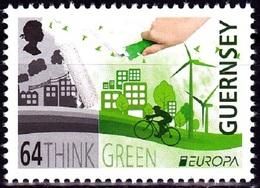 Europa Cept - 2016 - Guernsey - (Think Green) ** MNH - 2016