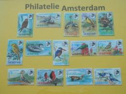 Lesotho 1981, FAUNA BIRDS OISEAUX VOGELS VÖGEL AVES: Mi 330-43, Type I XA, ** - Unclassified