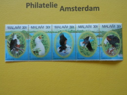 Malawi 1983, FAUNA BIRDS RAPTORS GREIFVOGEL ROOFVOGELS RAPACES: Mi 396-00, ** - Eagles & Birds Of Prey