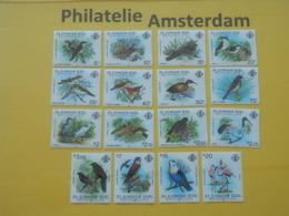 Seychelles (Outer) 1983, FAUNA BIRDS OISEAUX VOGELS VÖGEL AVES: Mi 50-65, ** - Unclassified