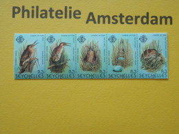 Seychelles 1982, FAUNA BIRDS OISEAUX VOGELS VÖGEL AVES: Mi 498-02, ** - Unclassified