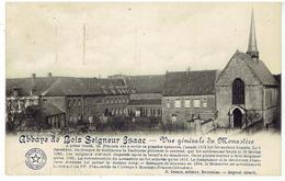 Bois-Seigneur-Isaac - Abbaye - Vue Générale Du Monastère - Cachet VIIe Olympiade Anvers - Relais Hellebecq ( Nimy ) - Braine-l'Alleud