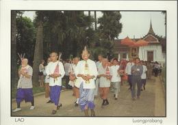 Laos - Luangpralang - Phra Bang Procession - Laos