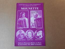Partitions -  Mounette - Spartiti