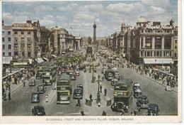 Carte Postale Moderne En Couleur—CPM—Irlande, Dublin—O'Connell Street And Nelson's Pillar - Dublin