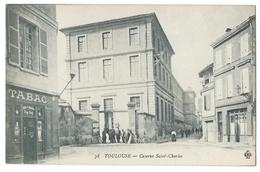TOULOUSE (Hte-Garonne, 31) Caserne SAINT-CHARLES - Bureau De Tabac Zig-Zag - Toulouse