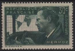FR 1356 - FRANCE N° 337 Neuf* Jean Mermoz - France