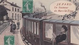 MARS-la-TOUR  : (54) Fantaisie Je Pars, Un Souvenir De Mars-la-Tour - France