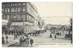 CLERMONT-FERRAND (Puy De Dôme, 63) Place De Jaude - Belle Animation Autour Du Café De Paris - Clermont Ferrand