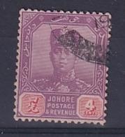 Malaya - Johore: 1922/41   Sultan Ibrahim    SG108    4c      Used - Johore