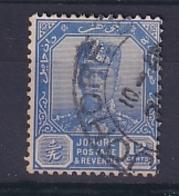 Malaya - Johore: 1922/41   Sultan Ibrahim    SG114    12c    Ultramarine  Used - Johore