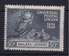 Malaya - Johore: 1949   U.P.U.  SG151    50c   Used - Johore