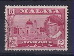 Malaya - Johore: 1960   Sultan - Pictorial    SG158    5c    Used - Johore