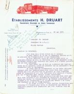 Marchienne-au-Pont. Transports Routiers Druart. 1937 - Transports