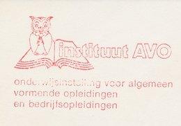 Meter Cut Netherlands 1980 Bird - Owl - Book - Birds