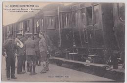 Le Train Sanitaire Anglais Groupe D'Alliés British Army Scottish WW1 Marque Postale Grande Guerre Les Sables D'Olonne - Weltkrieg 1914-18