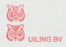 Meter Cut Netherlands 1979 Bird - Owl - Birds