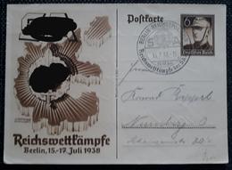 DR 1938, Postkarte P271 BERLIN Sonderstempel - Lettres & Documents